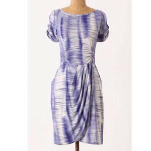 Anthro Weston Wear Royal Blue Hemlock Dress XS